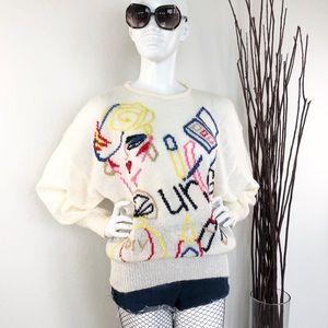 Nicola Ferri | Vintage Oversized Mohair Sweater